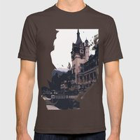 Castlevania Mens Fitted Tee Brown SMALL