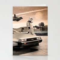 2 Stormtrooopers In A Ho… Stationery Cards