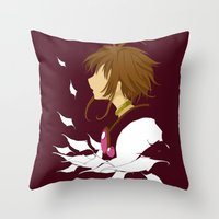 Lost Wings Throw Pillow