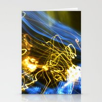 Explosion Of Colors Stationery Cards