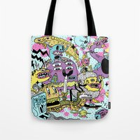 The Adventures Of Rad St… Tote Bag