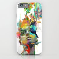 black iPhone & iPod Cases featuring Dream Theory by Archan Nair
