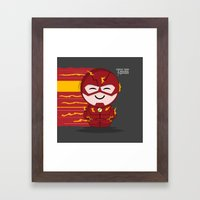 ChibizPop: Faster Than..… Framed Art Print