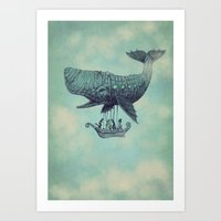 Tea At 2,000 Feet Art Print