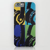 iPhone & iPod Case featuring Headphones by Brianms18