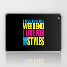 Live For The Weekend Music Quote Laptop & iPad Skin