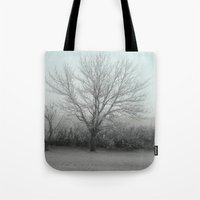 Misty morning /photo Tote Bag