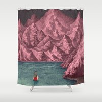 Swimming in your mind Shower Curtain