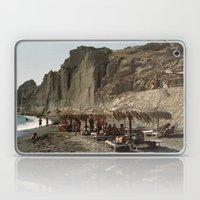 Eros Beach, Santorini Laptop & iPad Skin