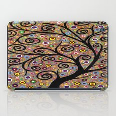 Abstract tree-11 iPad Case