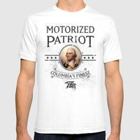 Bioshock Motorized Patri… Mens Fitted Tee White SMALL