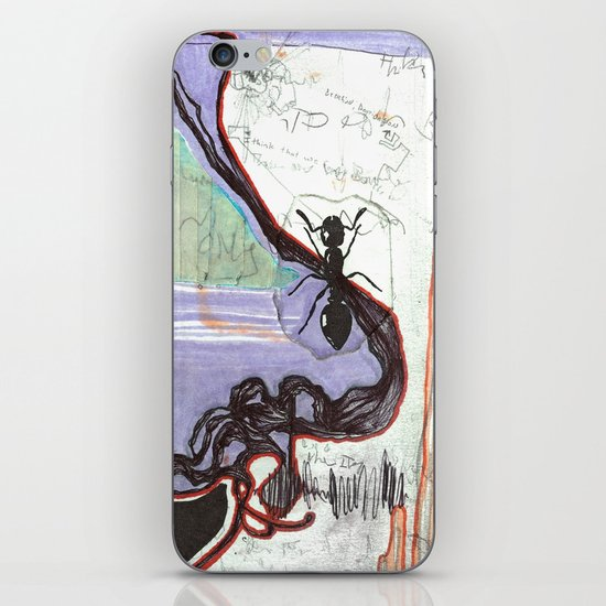 Space Voyage iPhone & iPod Skin