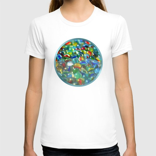 Marbles... Lost & Found - Painting Style T-shirt