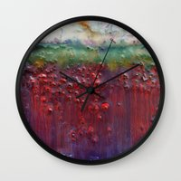 Colors Of The Season (ch… Wall Clock