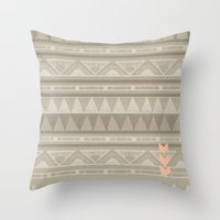There is no desert Throw Pillow