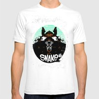 RatFinK Mens Fitted Tee White SMALL