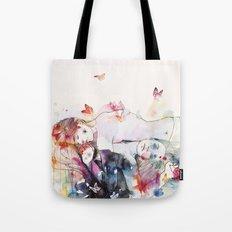 dreamy insomnia Tote Bag