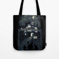 Zombies Inn Tote Bag