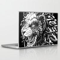 lion Laptop & iPad Skins featuring Lion by BIOWORKZ