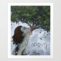 Dafni Art Print