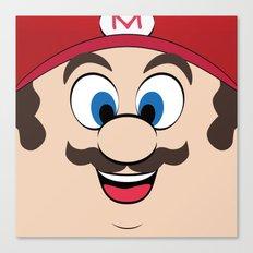 Super Mario Canvas Print