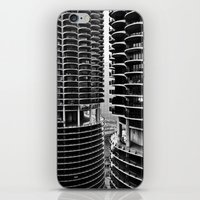 Bertrand's Buildings iPhone & iPod Skin