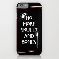 NoMoreSkullz&Bones iPhone 6 Slim Case