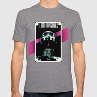 I AM INVISIBLE Mens Fitted Tee Tri-Grey SMALL