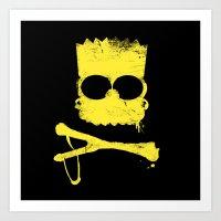 Pochoir - Bart Art Print