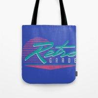 Retro Grade Tote Bag