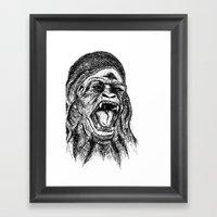 UnMonoLoco. Framed Art Print