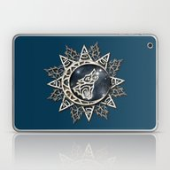 Wolf Emblem Laptop & iPad Skin