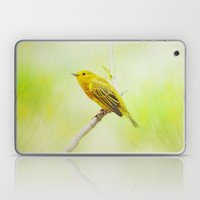Yellow Warbler Laptop & iPad Skin