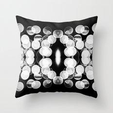 Bokeh Symmetry 2 Throw Pillow