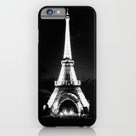 Paris Black & White iPhone 6 Slim Case