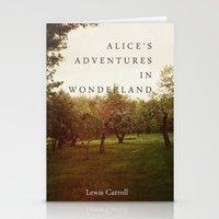 Alice's Adventures In Wonderland Stationery Cards