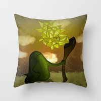 Tirando Magia Throw Pillow