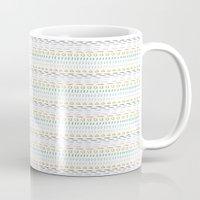 Line Dot Line Triangle Mug