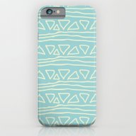 Blue Scribbles 05 iPhone 6 Slim Case