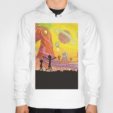 Rick and Morty - Silhouette Hoody
