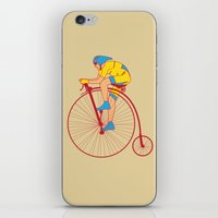 Pennyfarthing  iPhone & iPod Skin