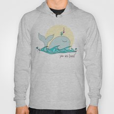 You Are Loved From The Deep Blue Sea Hoody