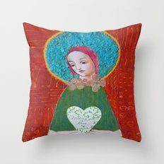 Wishing You Love Throw Pillow