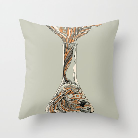Science & Wonder Throw Pillow