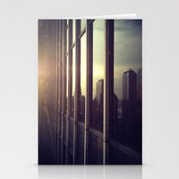 nyc window Stationery Cards