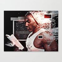 K(NO)W X LEDGE = NO LEDG… Canvas Print