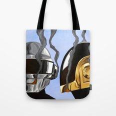Daft Punk Deux Tote Bag