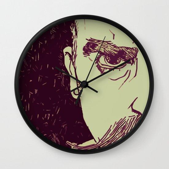 Gruff Wall Clock