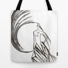 Angel under cover (home photo) Tote Bag