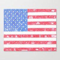 The America Canvas Print